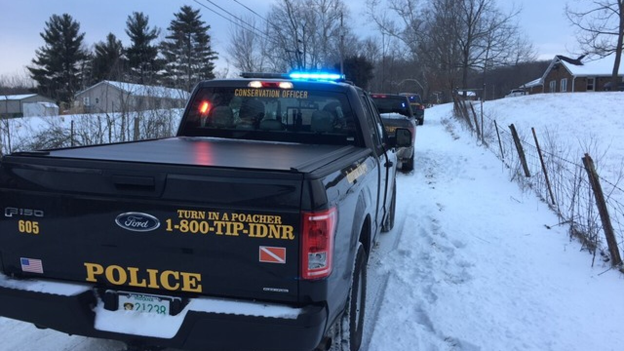 Fisherman critical after falling through ice