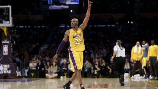 Kobe Bryant among eight finalists for Basketball Hall of Fame
