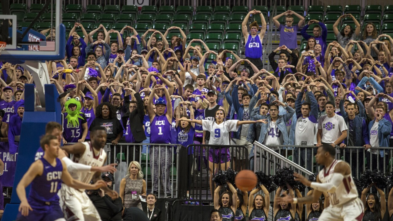 Grand Canyon Univ. hoops team placed in quarantine