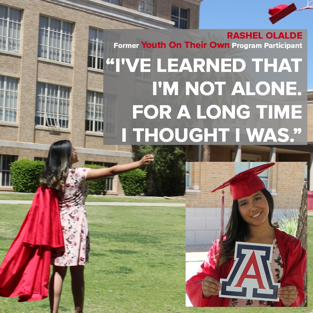 Rashel Alalde learned that she was not alone. For a long time she thought she was.