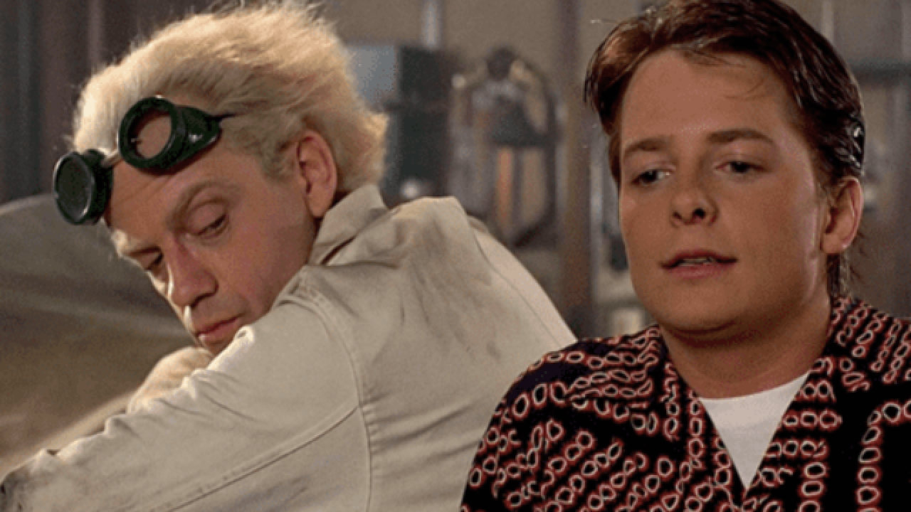 Michael J. Fox, Christopher Lloyd have mini 'Back to the Future' reunion