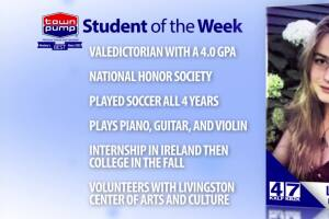 Student of the Week: Leslie Gregory