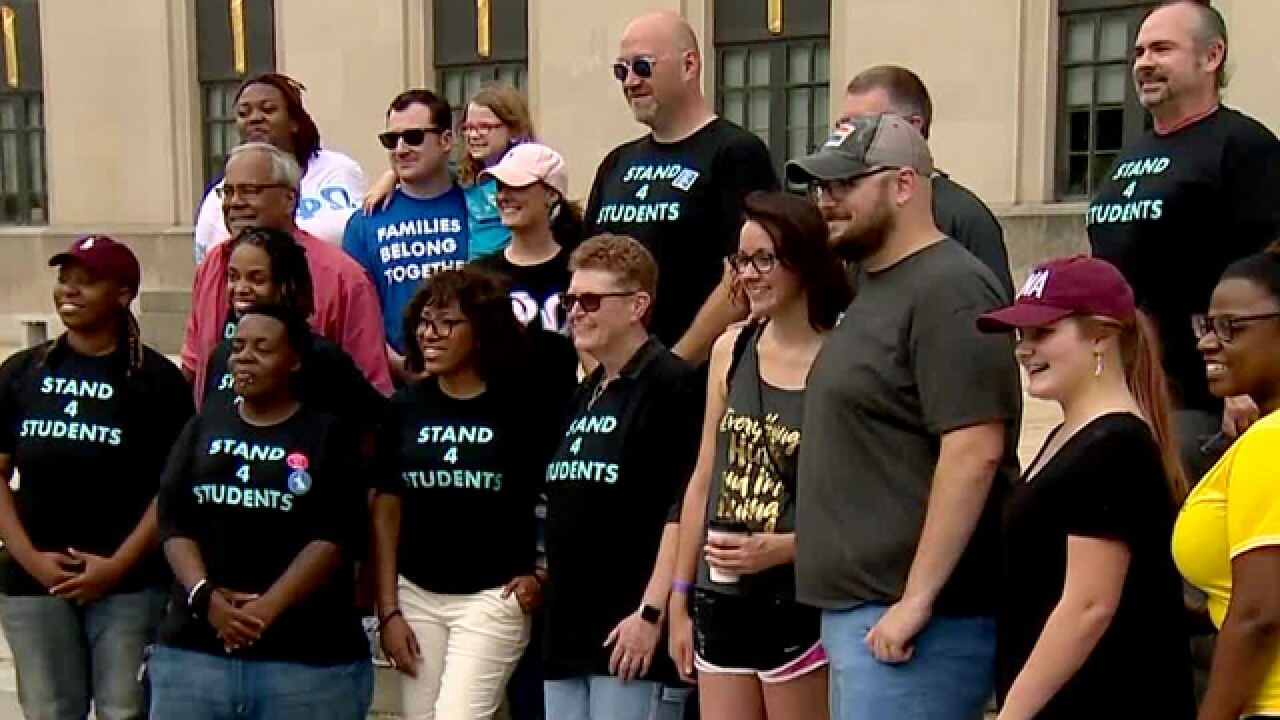First-Ever Stand Movement Rally Held In Downtown Nashville