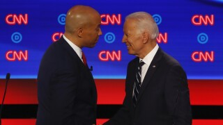 Sen. Cory Booker endorses Joe Biden