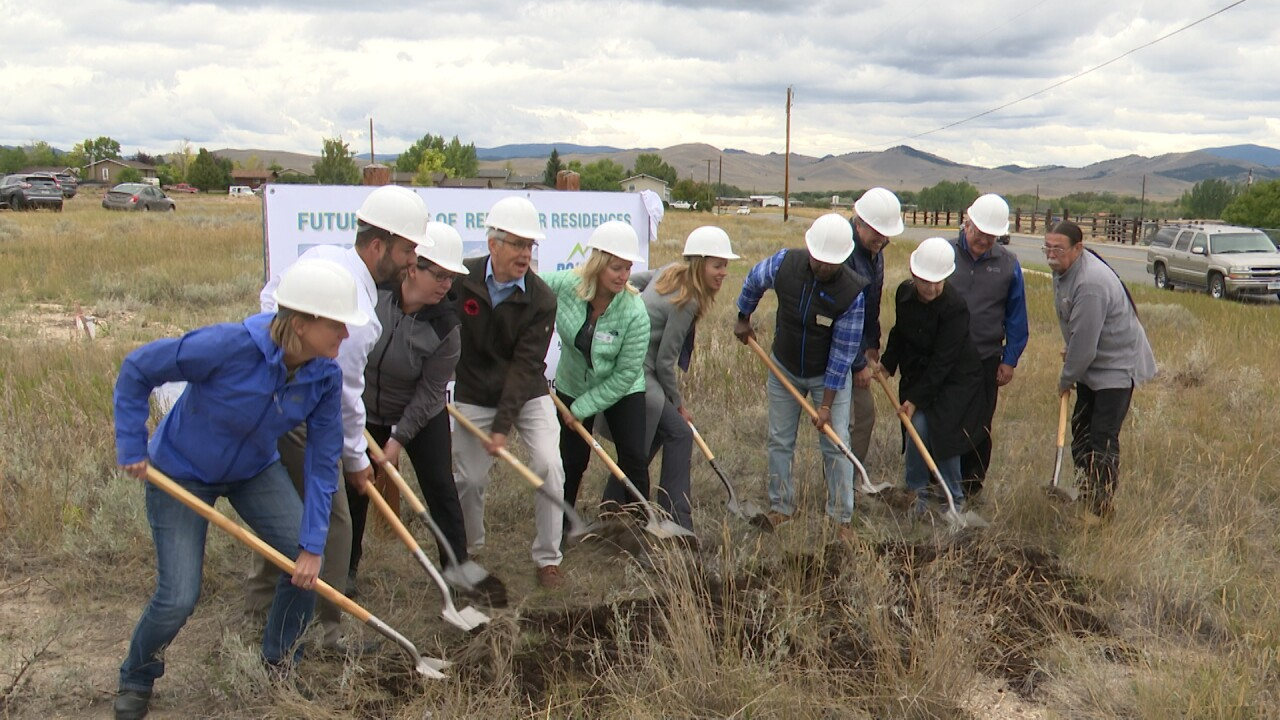 Leaders celebrate groundbreaking for Helena affordable housing project