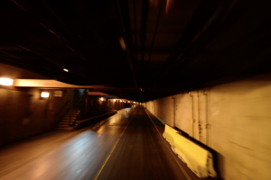 Tunnels under DIA