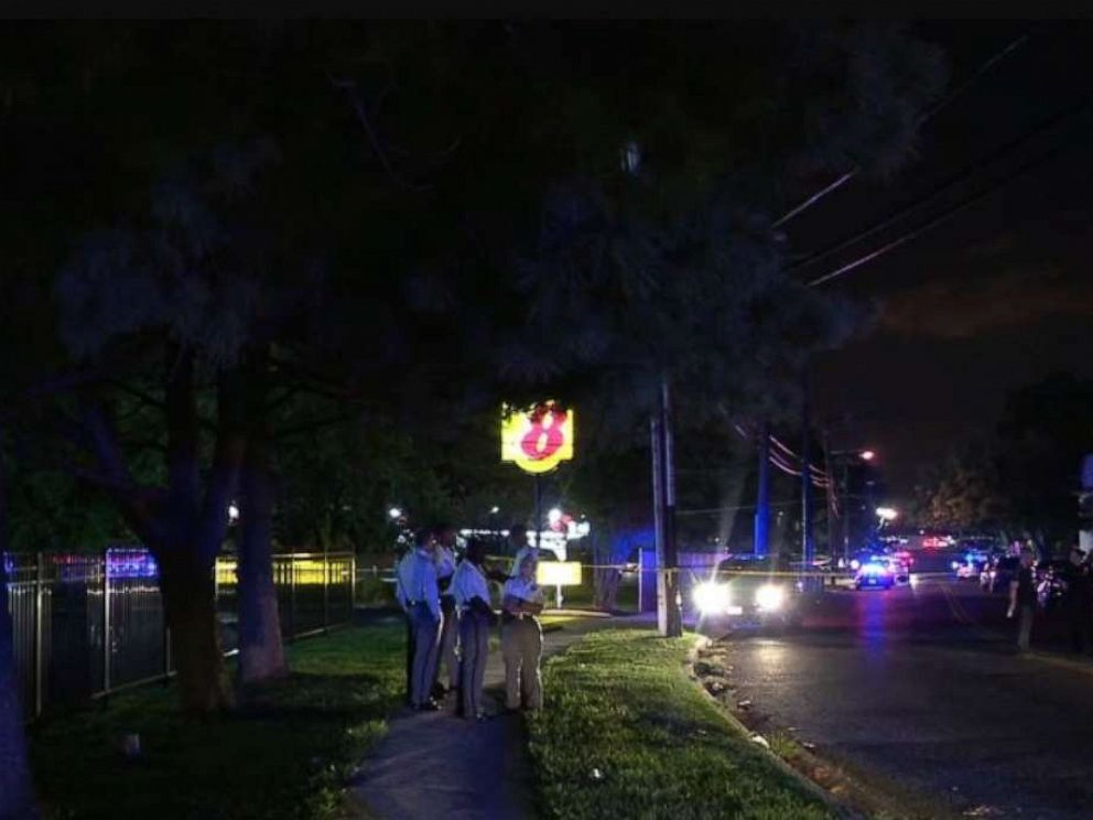 Seven people were shot at a 2-year-old's birthday party in Camp Springs, Md., on Saturday night, Aug. 24, 2019 (WJLA).
