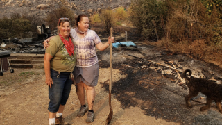 Community bands together to help Jamul farm decimated by Valley Fire