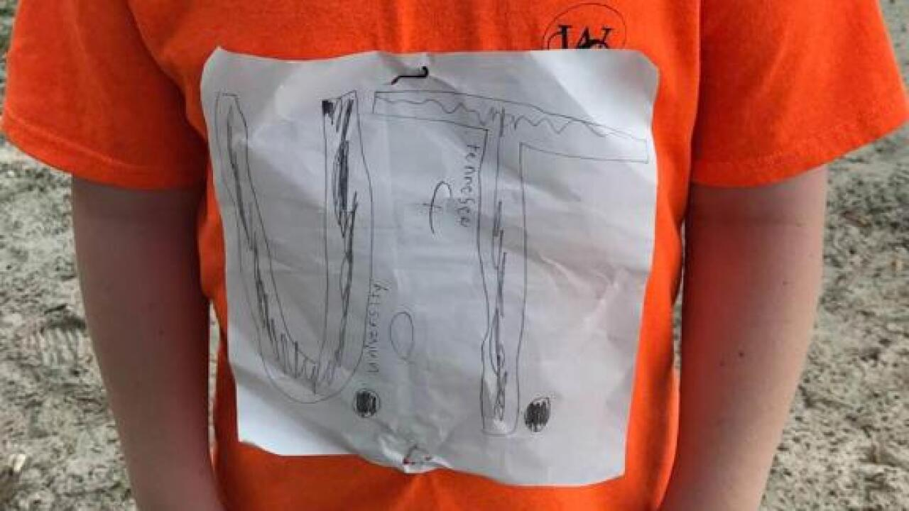 Tennessee offers four-year scholarship to Florida 4th grader who inspired T-shirt design