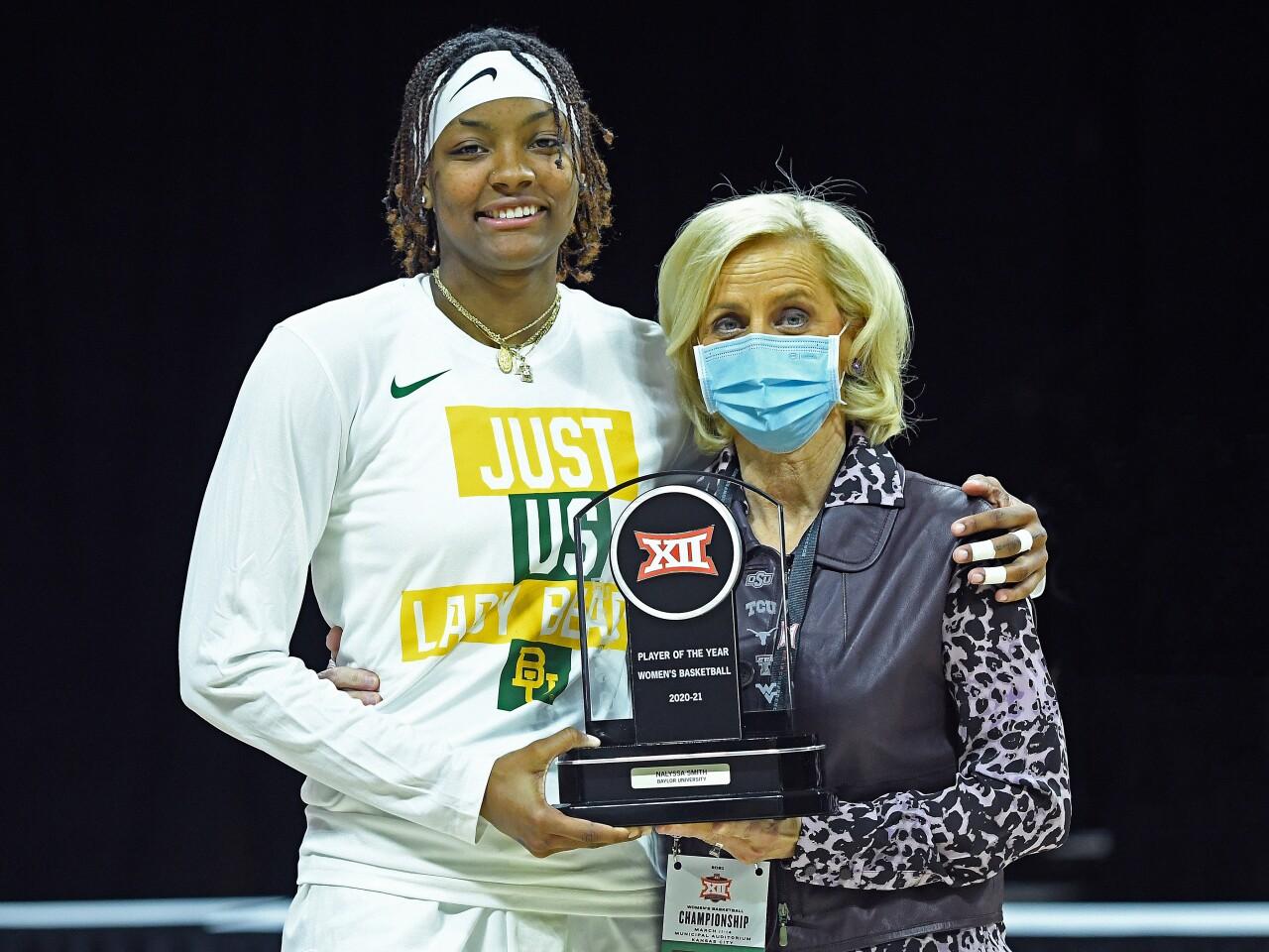Phillips 66 Big 12 Women's Basketball Championship, March 12, 2021