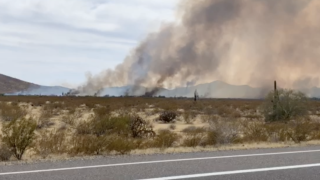 Cave Creek/Jomax fire