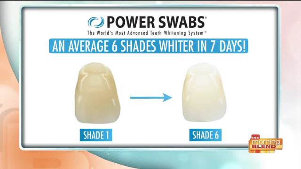 Get a whiter smile in just a few minutes