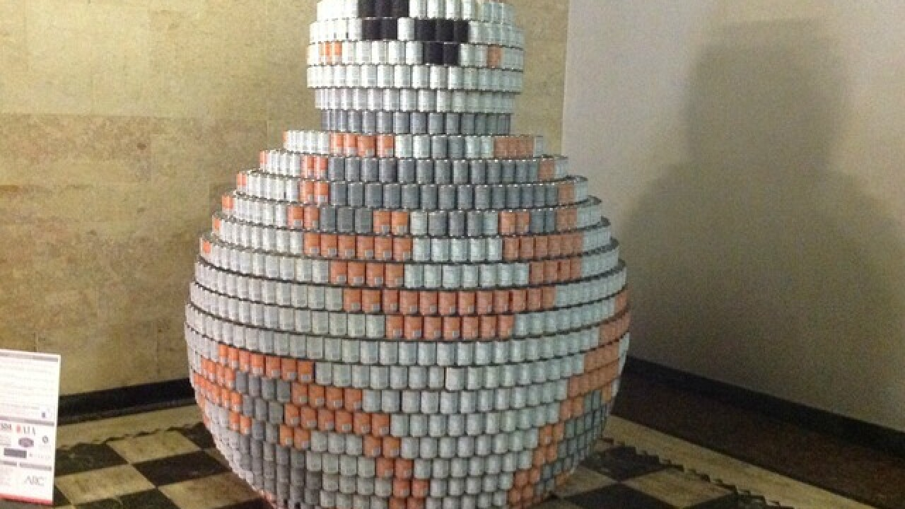 See how BB-8, Nemo and Dory can feed the needy