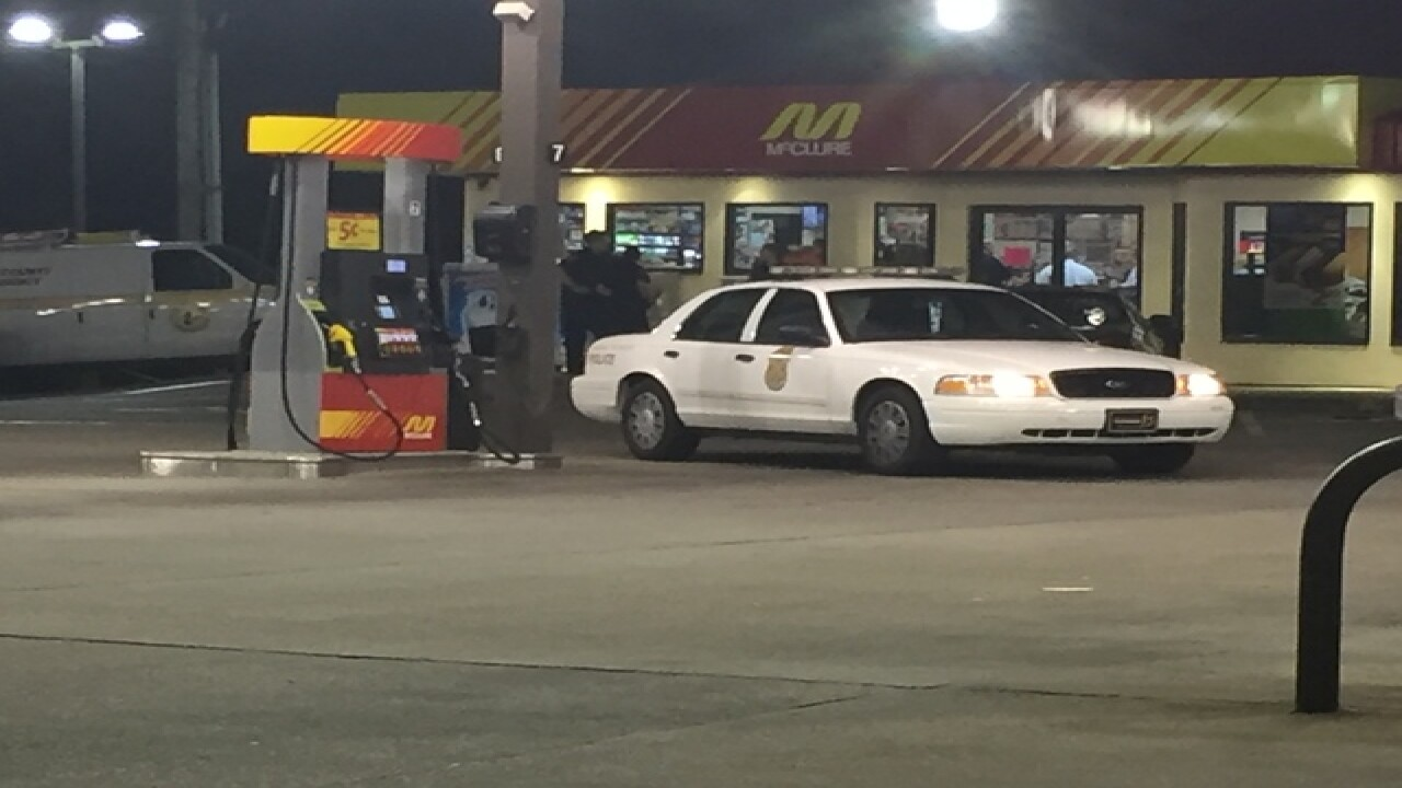 Woman killed in gas station shooting