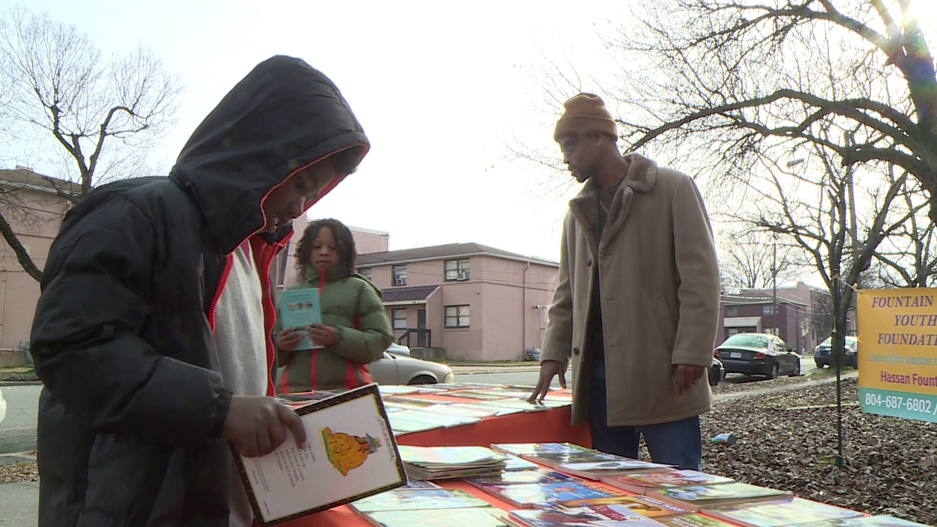 Photos: Why group is giving free books to kids in this Richmond neighborhood