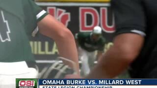 Omaha Burke wins state legion title