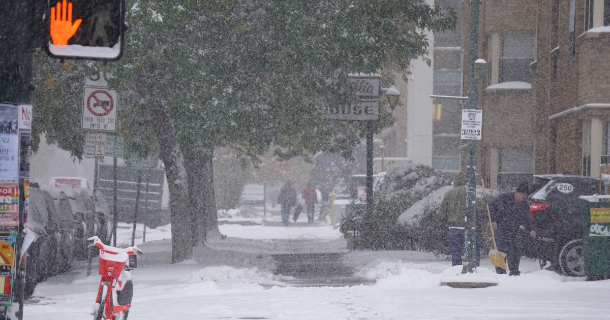 National Weather Service: Denver could see lowest snowfall since 2003