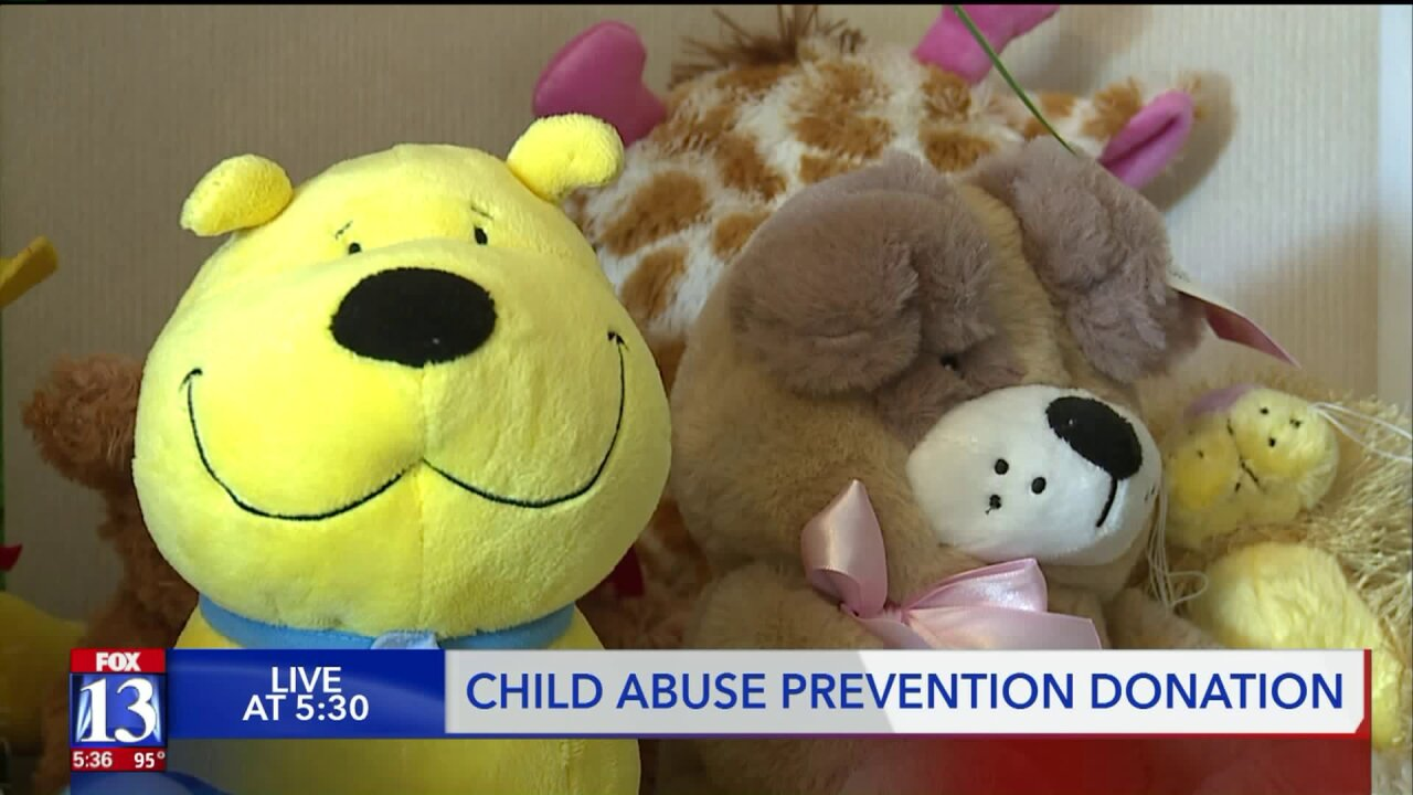 LDS Church makes donation to Children's Justice Center to aid abusevictims