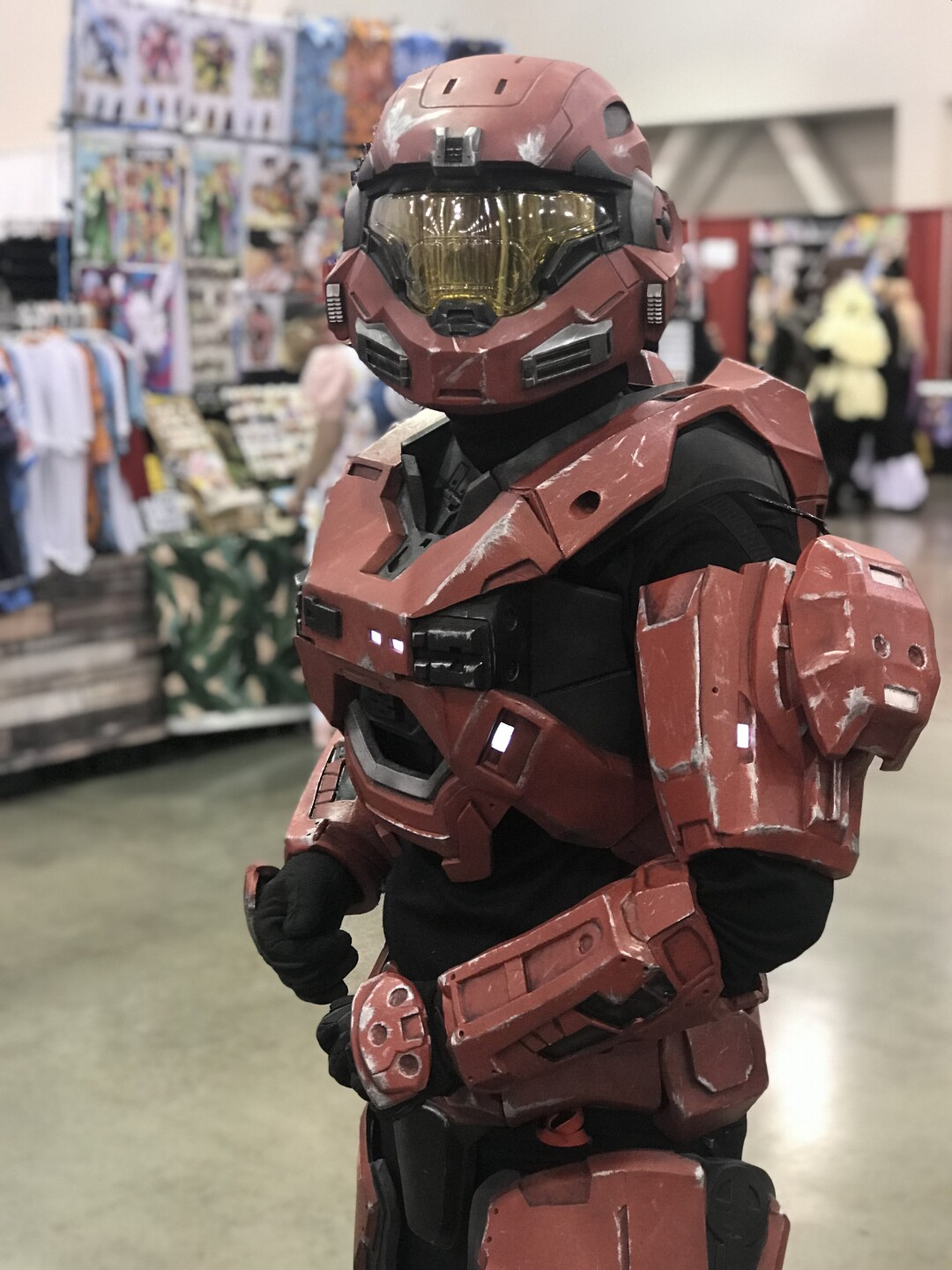 This cosplay outfit costs more than $3,000 the owner of it said.