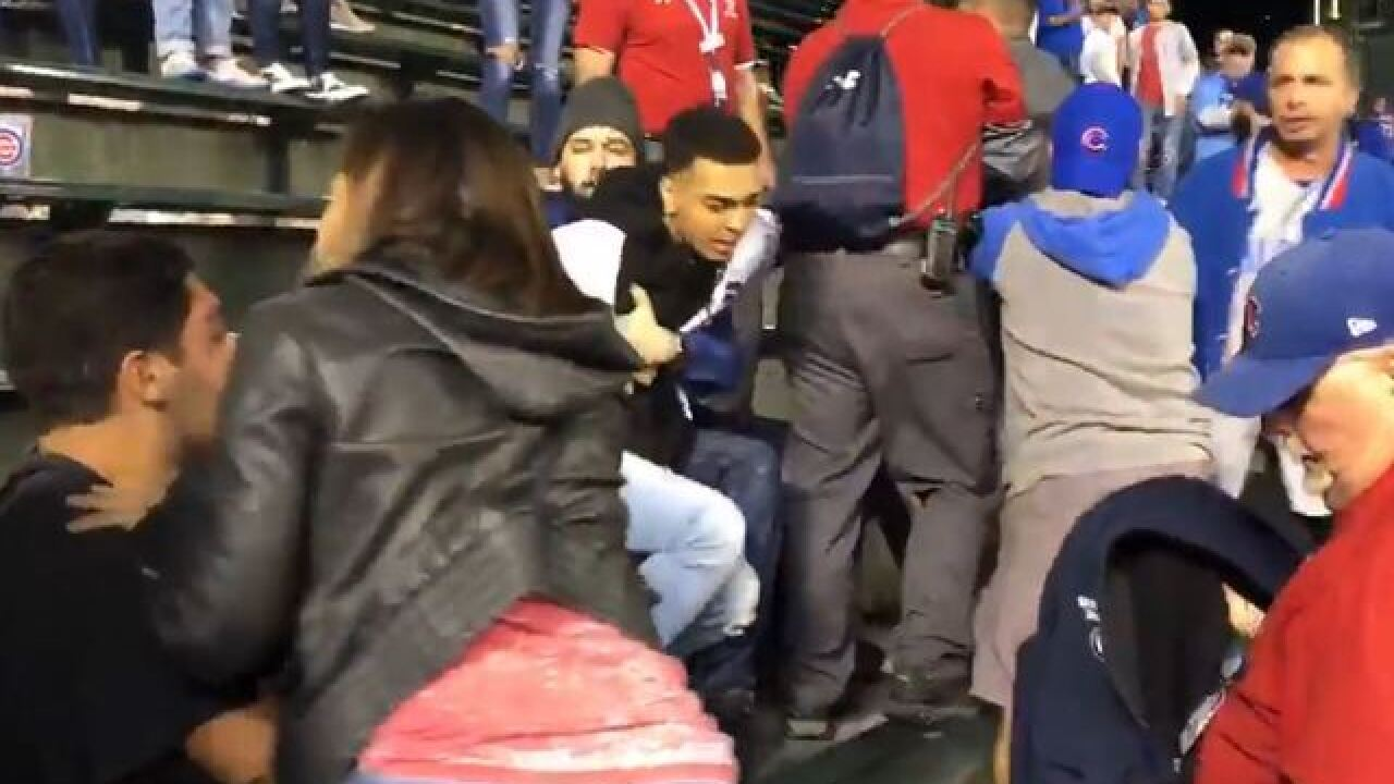 Ind. Guard soldier in Wrigley Field fight