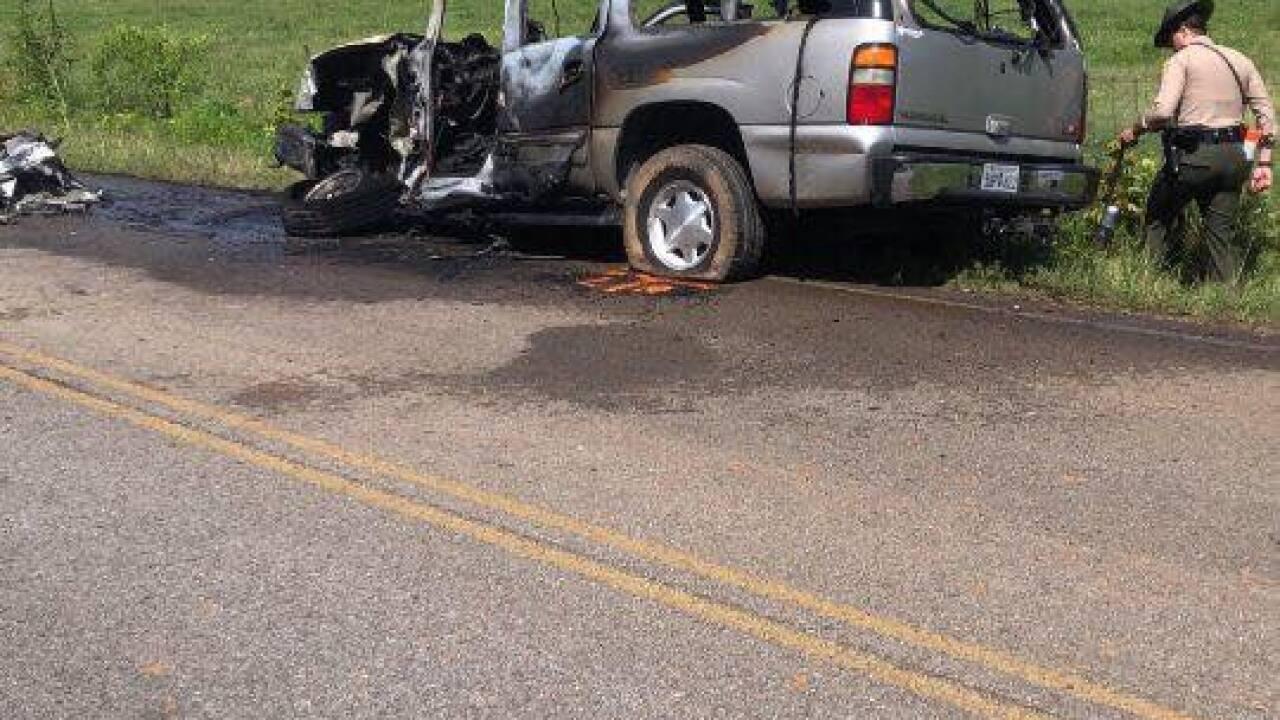maury county vehicle fire