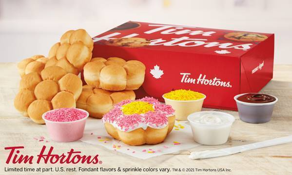 Tim Hortons to sell DIY donut kits for Mother's Day