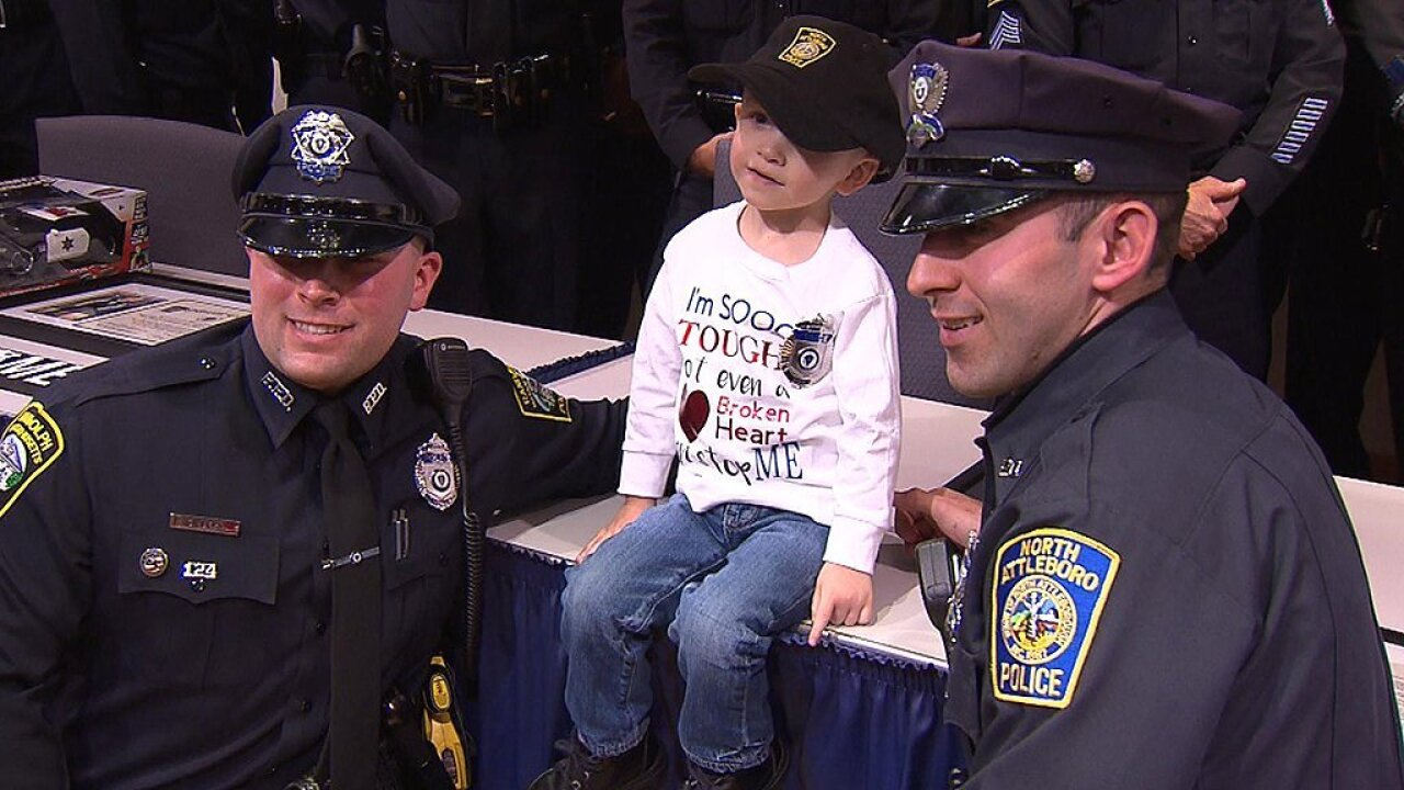 Boy with heart disease named honorary police officer