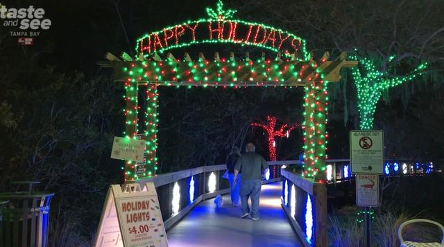 PHOTOS: Christmas lights at the Florida Botanical Gardens in Largo