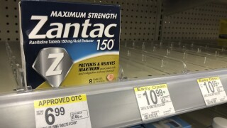 FDA says Zantac products should be pulled from shelves due to cancer concerns