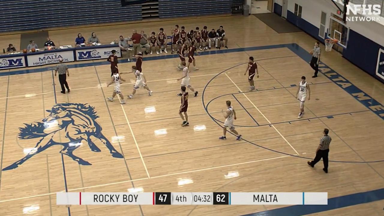 Rocky Boy-Malta boys basketball finish