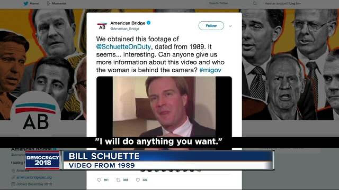 Schuette responds to resurfaced interview clip
