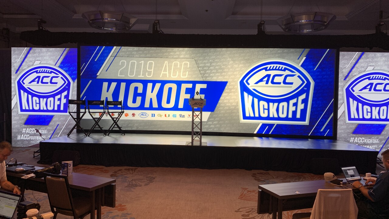 Meet the media: ACC Football Kickoff underway in Charlotte