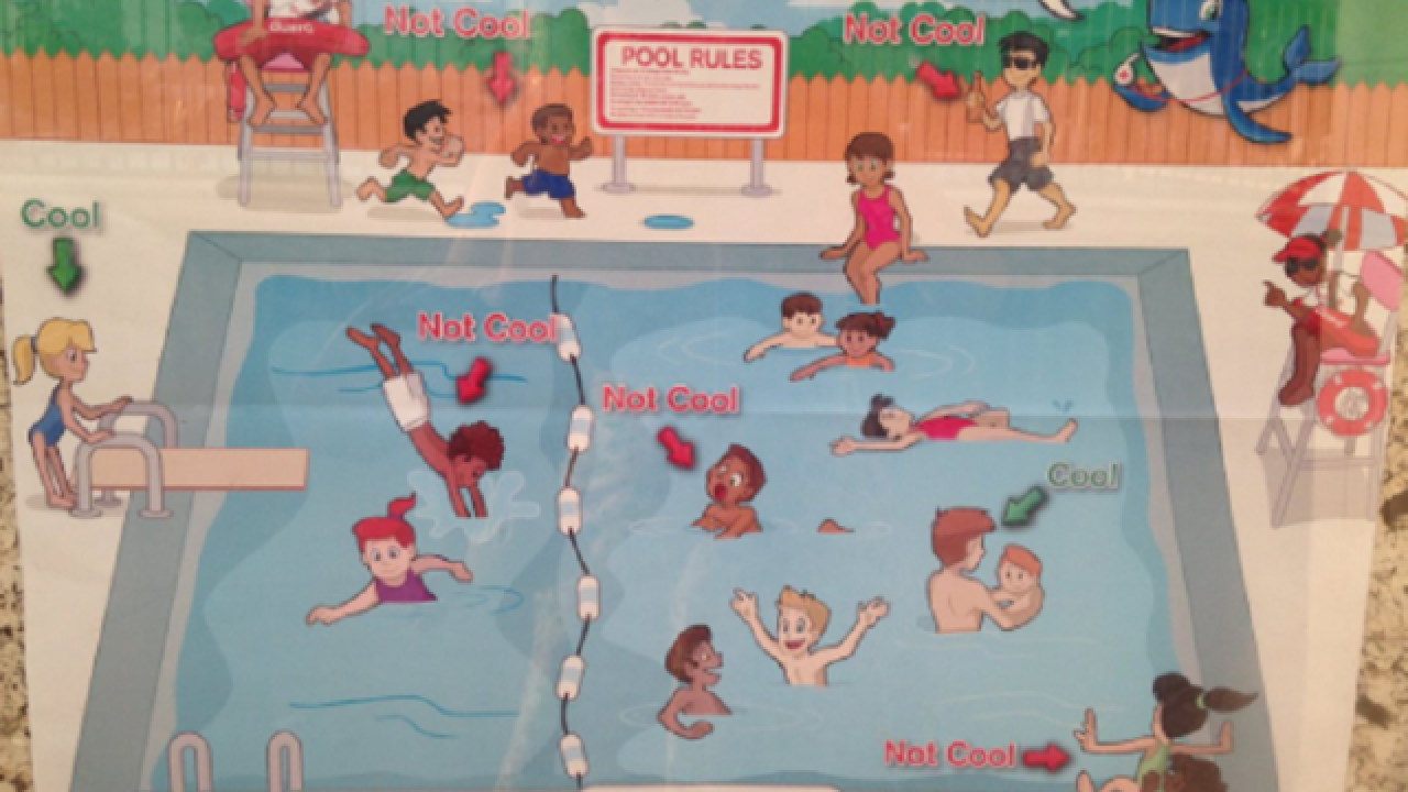 Red Cross apologizes for swimming safety posters deemed racist