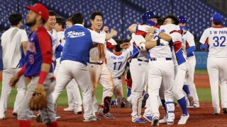 South Korea scores three in ninth to beat Dominican Republic