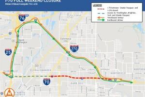 CDOT I-70 closure, Sept. 20-Sept. 23