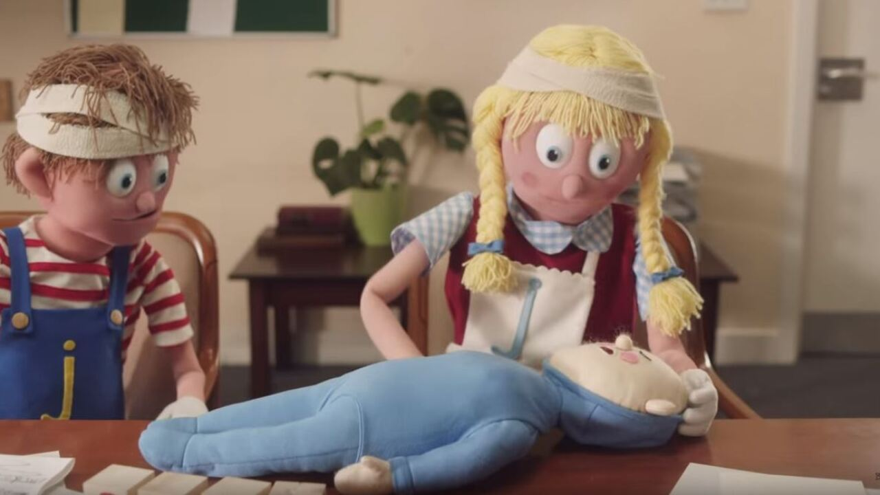 This two-minute video featuring puppets could save your baby's life
