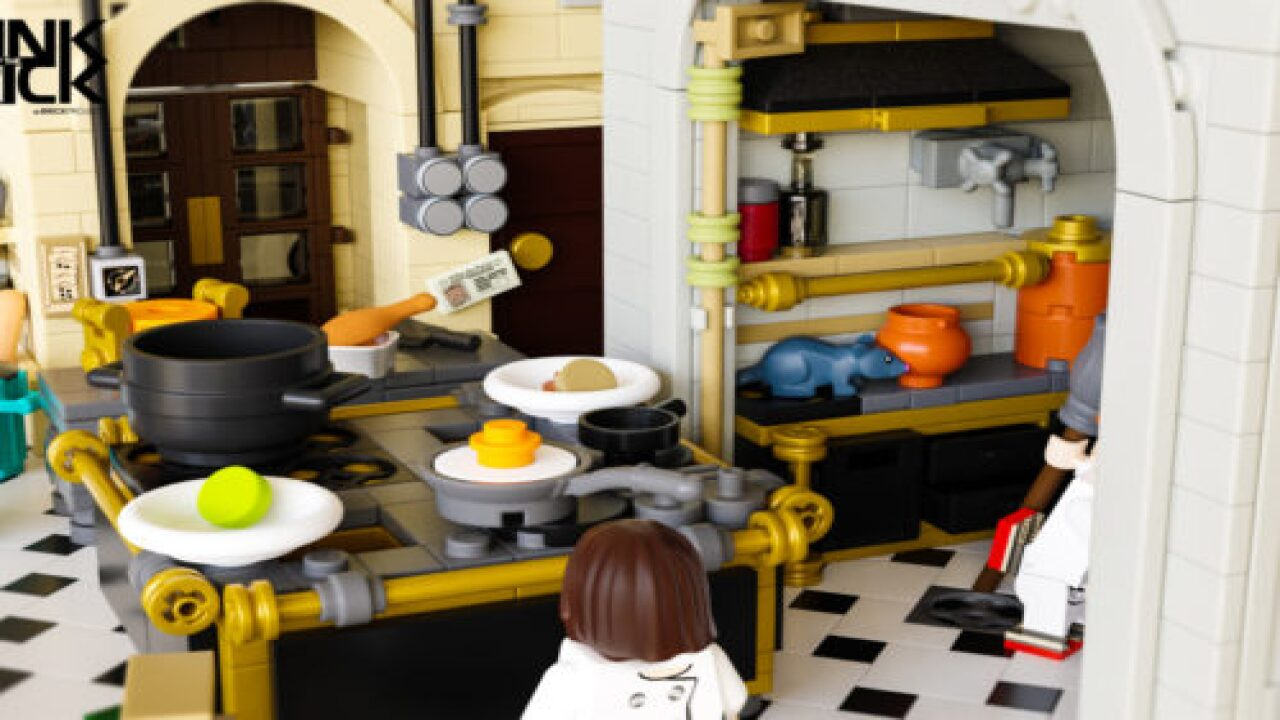 A Lego Version Of Ratatouille Could Be Reality But You