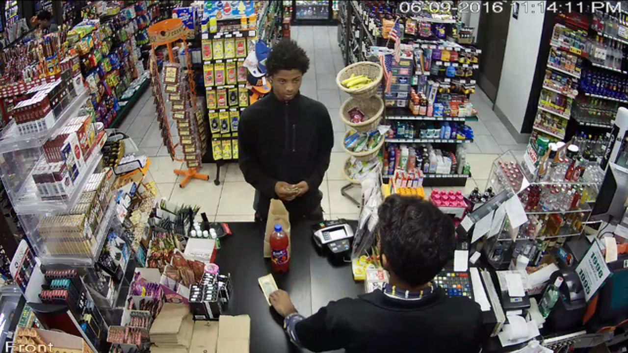 Police are looking for gas station thieves