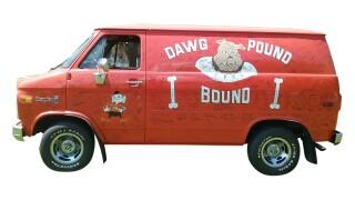Browns van