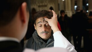 U.S. Christians Mark Start Of Lent With Ash Wednesday