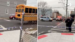 10-year-old girl fatally struck by school bus in Brooklyn, police say