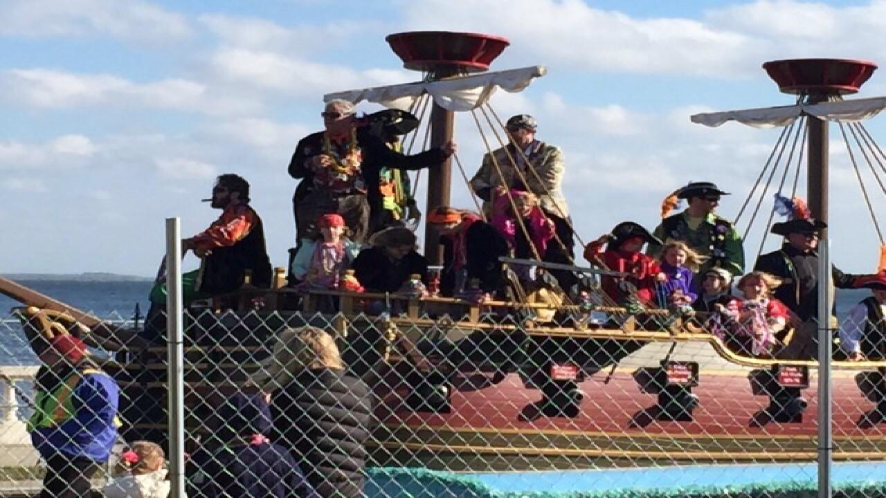 Children's Gasparilla parade photos