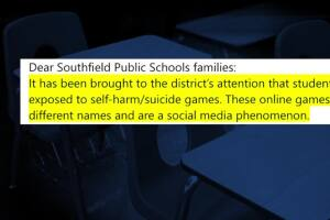 Metro Detroit students exposed to suicidal games online