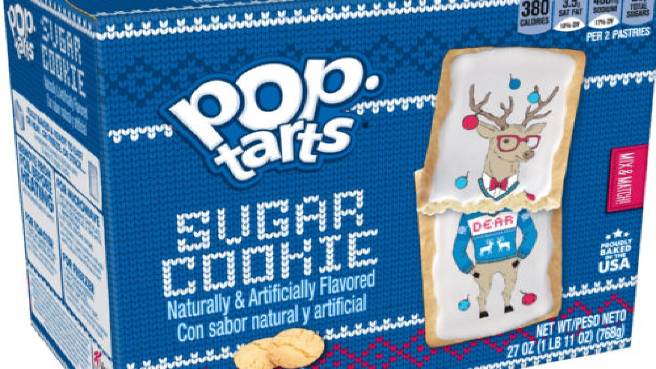These Sugar Cookie Pop-Tarts Are Wearing Ugly Christmas Sweaters
