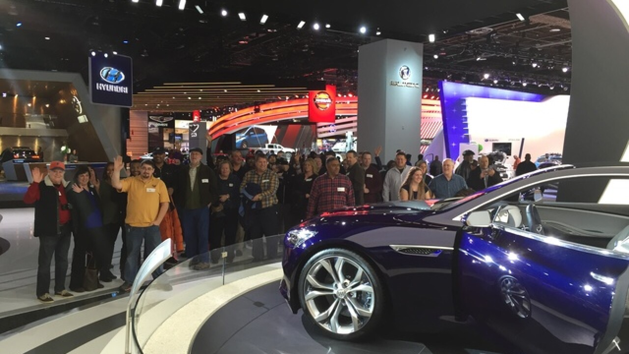 Auto Show through the eyes of 100 local drivers
