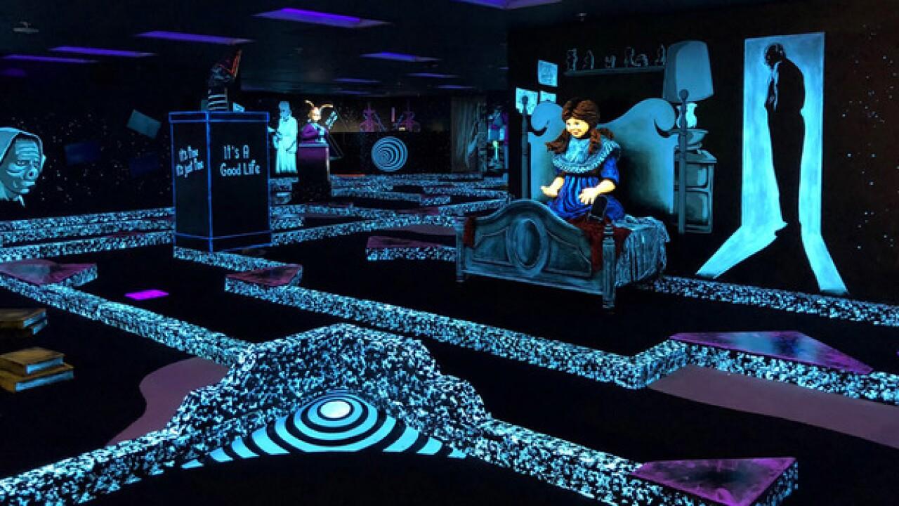 'Twilight Zone' mini golf opens at Bally's