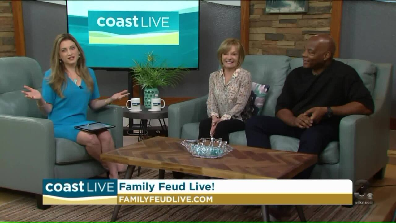 """Cathy Rigby and Alonzo Bodden are """"feuding"""" on CoastLive"""