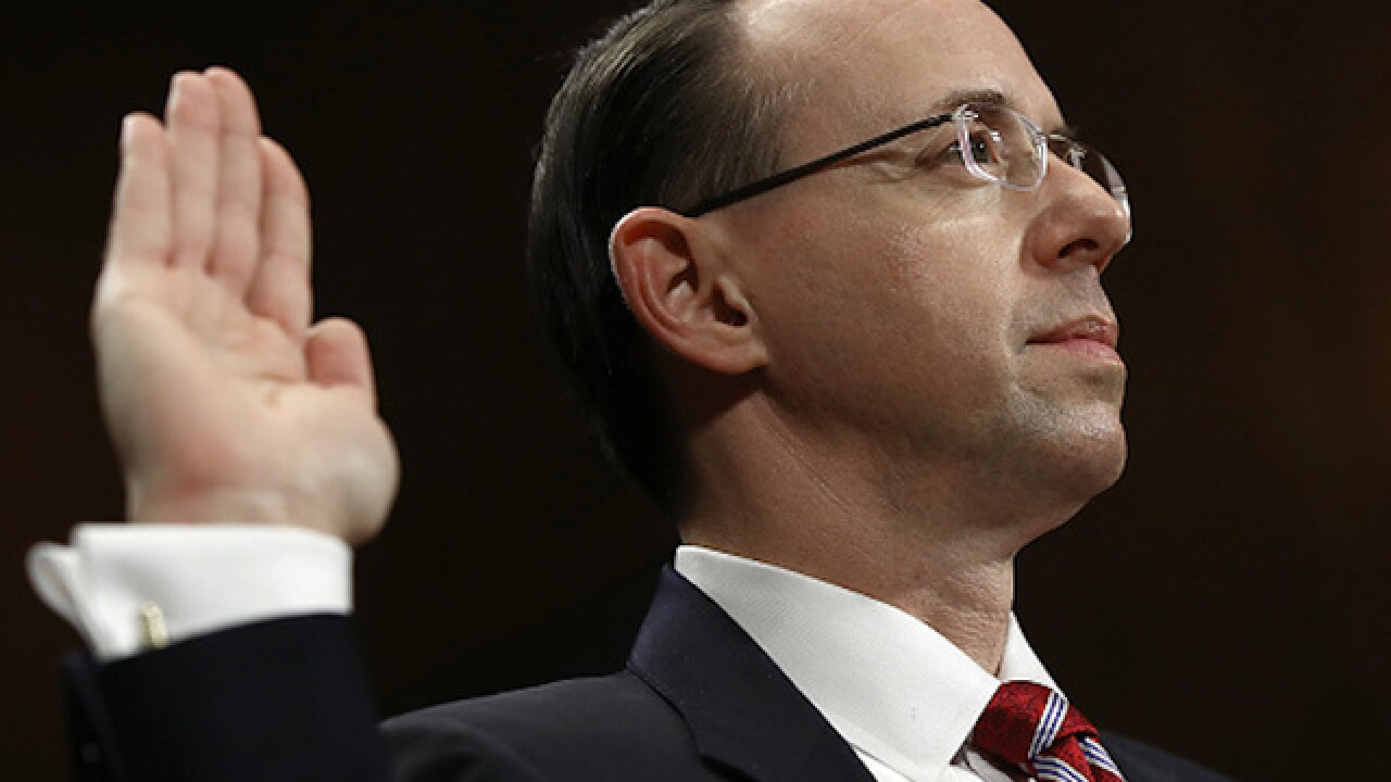 Deputy AG Rosenstein knew Comey was going to be fired before writing memo