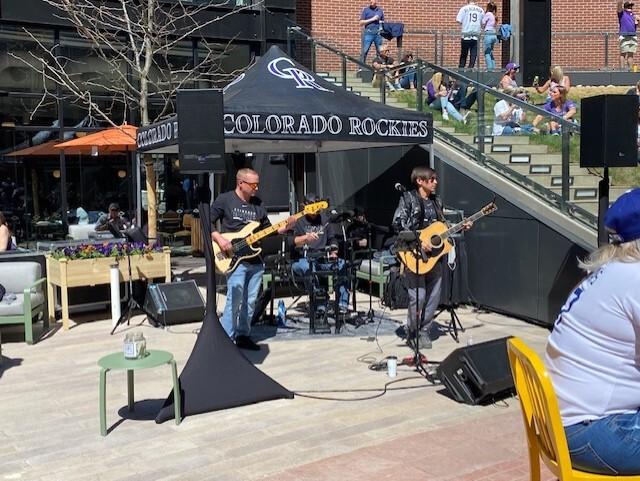 Live band at McGregor Square