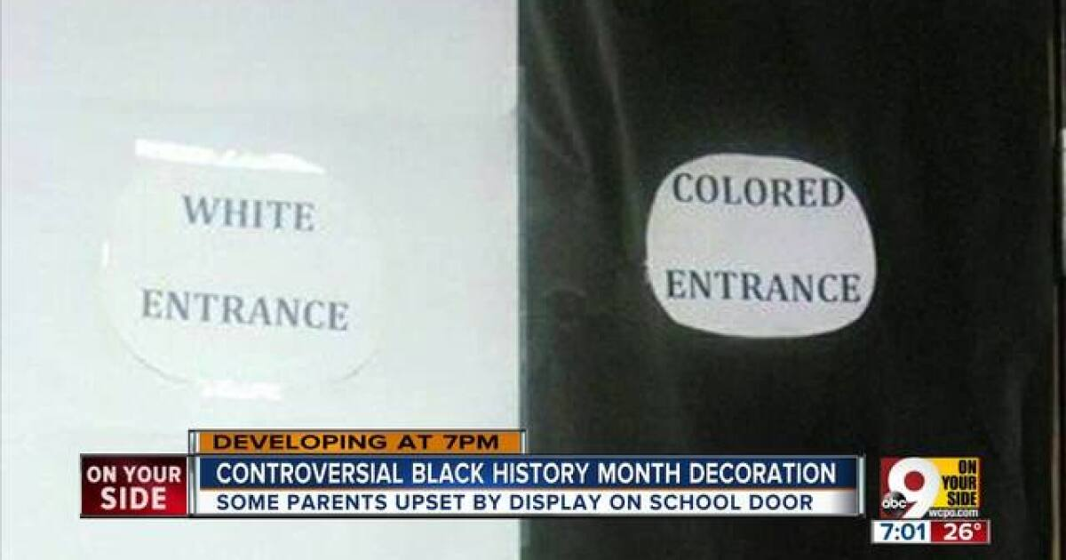 Parent Upset By St Bernard High School S Colored Entrance